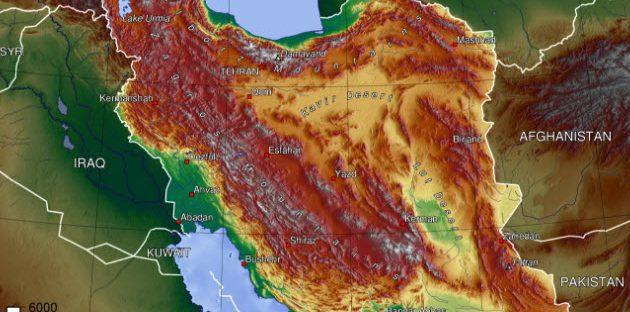 مساحت کشور ایران چقدر است؟