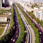 زیباترین خیابان تهران در تابستان