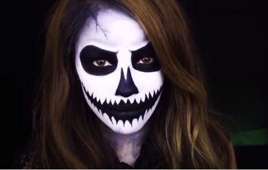 آموزش گریم ترسناک هالووین