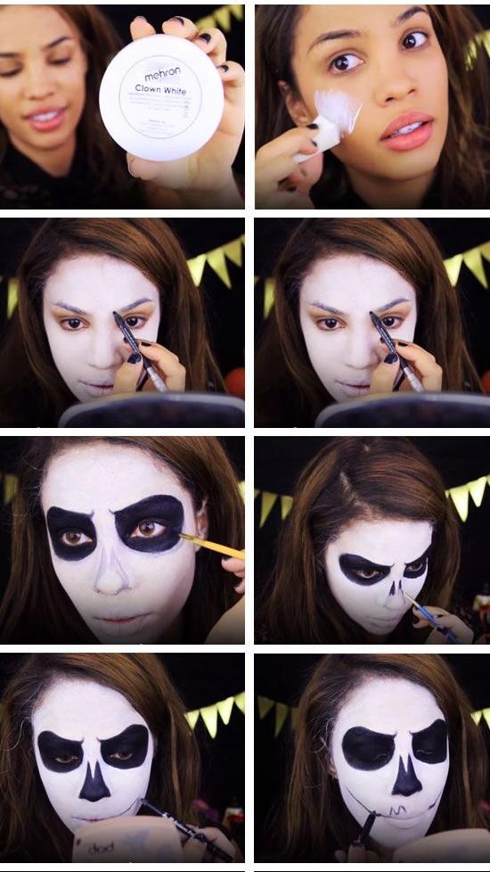 آموزش گریم هالووین 2016 جالب و جذاب