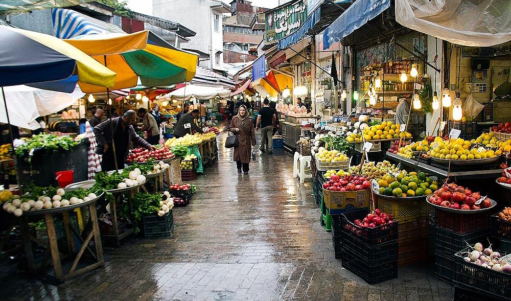 بازار سنتی رشت کجاست