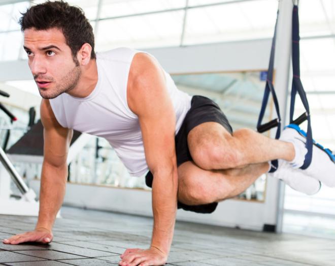 تمرینات تی آر ایکس برای عضله سازی