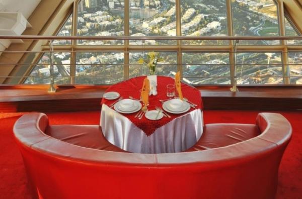 رستوران گردان برج میلاد یک رستوران لاکچری تهران