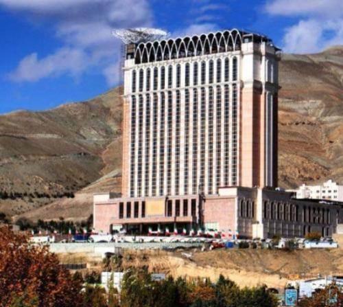 هتل اسپیناس پالاس مدرن ترین هتل تهران