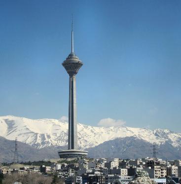 مکان های دیدنی تهران برای توریست: برج میلاد