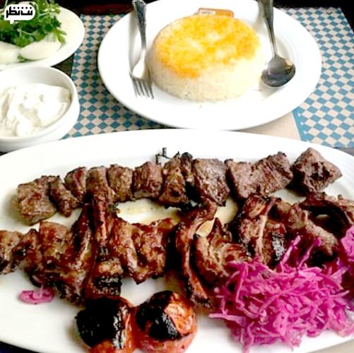 خوشمزه ترین کباب رشت رو رستوران زعفران سرو می کنه