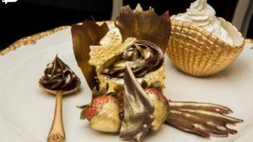 از طلای خوراکی در چه خوراکی هایی استفاده میشه؟