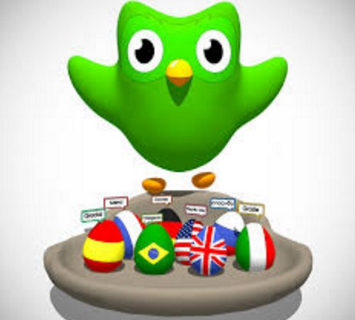 اپلیکیشن موبایل Duolingo