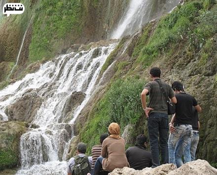 آبشار زیبای ایران و نوروز