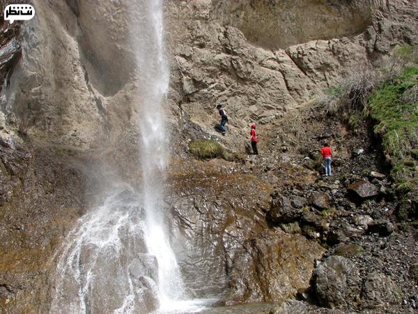 بلندترین آبشار زیبای ایرانی