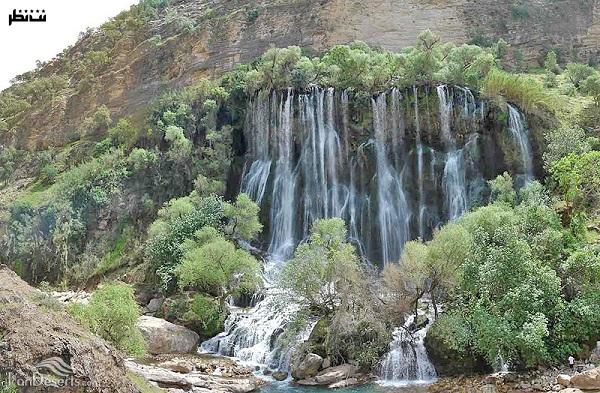 سرسبزترین آبشار زیبای ایرانی