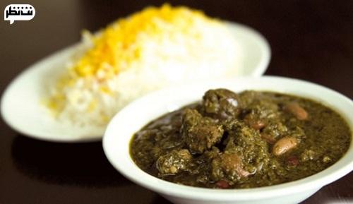 غذای محبوب شب عید قرمه سبزی