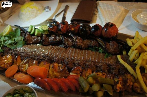 البرز قدیمی ترین رستوران تهران