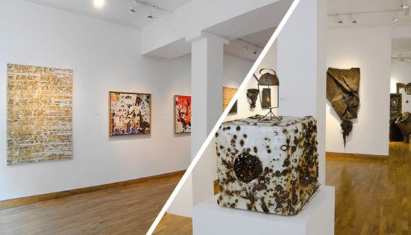 میدونی بهترین گالری هنری تهران کجاست