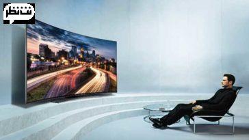 تلویزیون منحنی