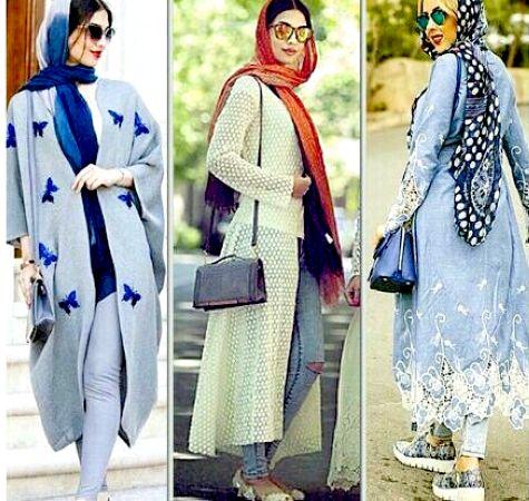 زیباترین مدل مانتو ایرانی