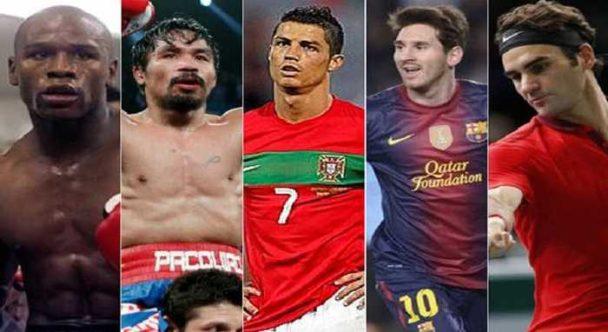 ثروتمندترین ورزشکاران جهان