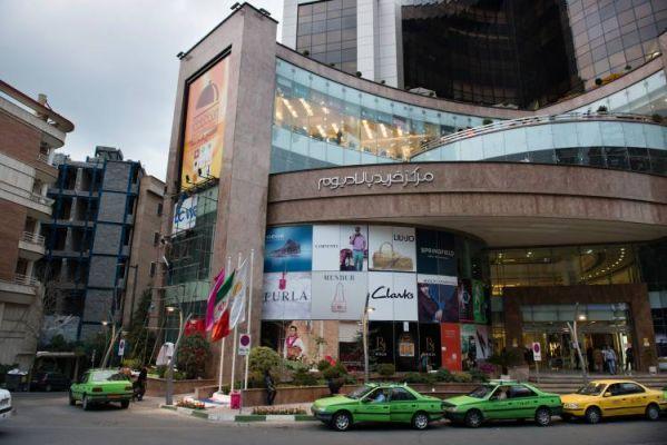 مرکز خرید پالادیوم یکی از لاکچری های تهران
