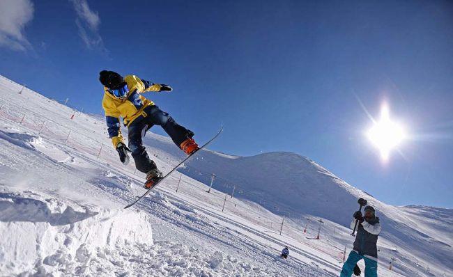 معرفی بهترین پیست اسکی در تهران