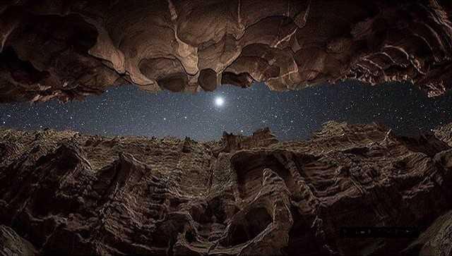 دره ستاره ها در قشم