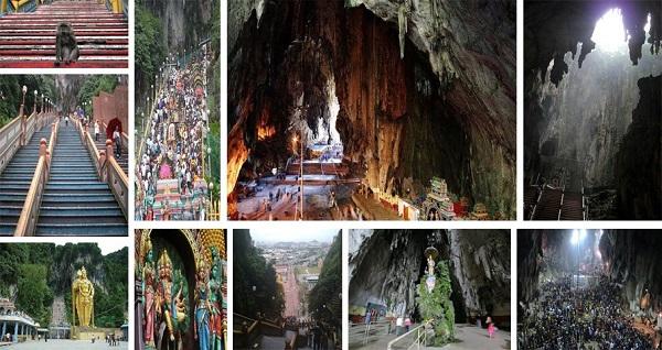 غار میمون ها در مالزی