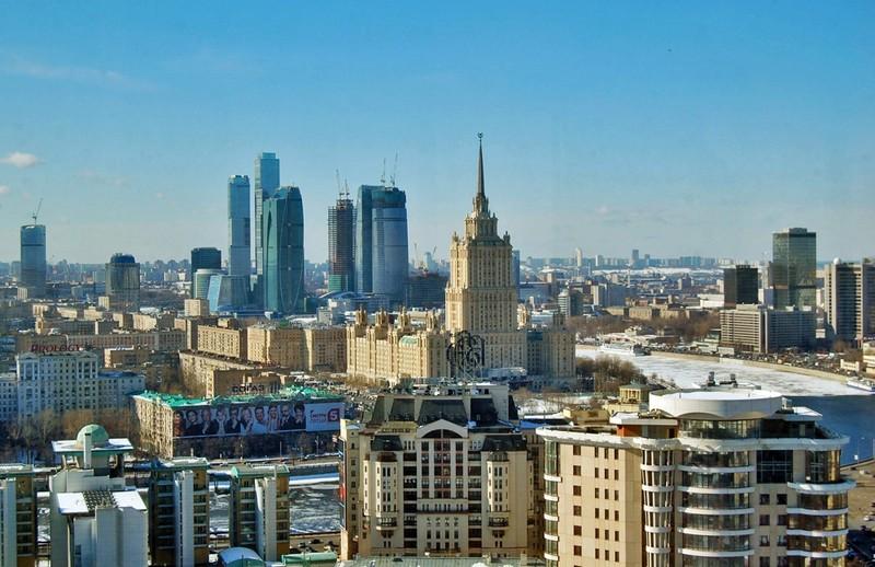 شهر زیبای مسکو