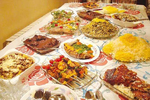 معرفی انواع غذاهای ایرانی