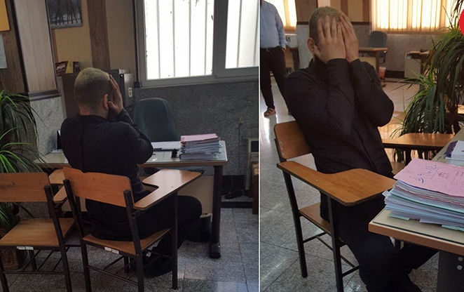 عکس دستگیری حمید صفت