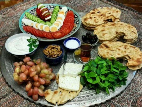بهترین صبحانه ایرانی ایرانی