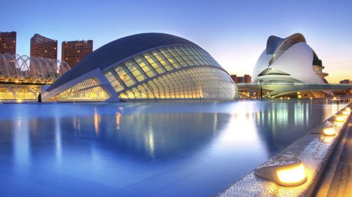 زیباترین شهر اسپانیا والنسیا