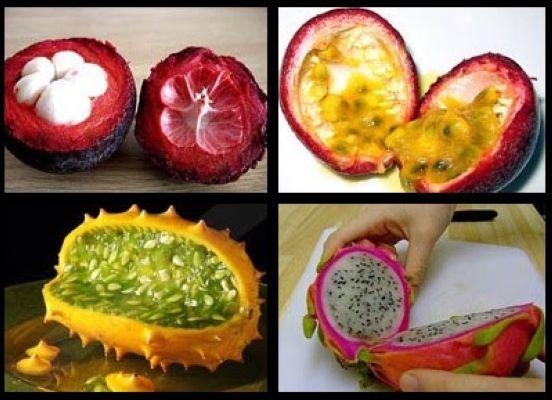 معرفی عجیب ترین میوه های جهان