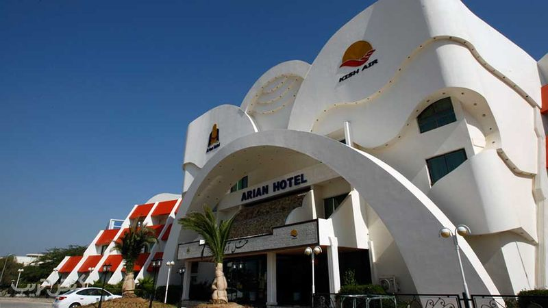 هتل آریان بهترین هتل جزیره کیش