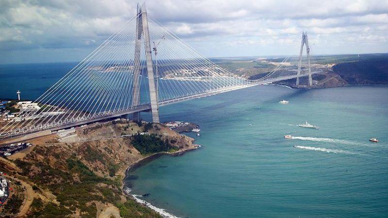 پل بسفر در استانبول