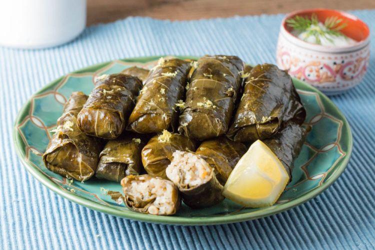دلمه غذای لذیذ ترکی