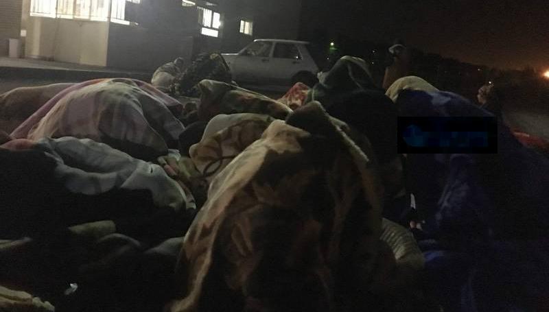 عکس زلزله کرمانشاه