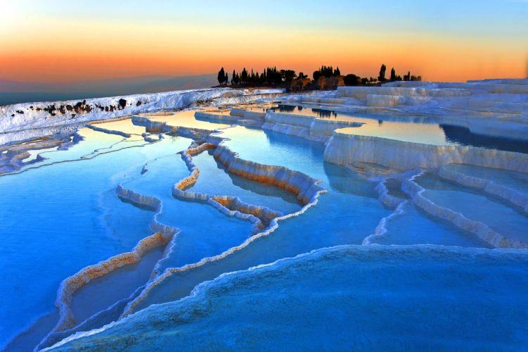 پاموک کاله جاذبه های گردشگری ترکیه