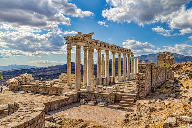 شهر باستانی پرگامون در ترکیه