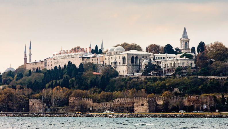 کاخ توپقاپی در ترکیه