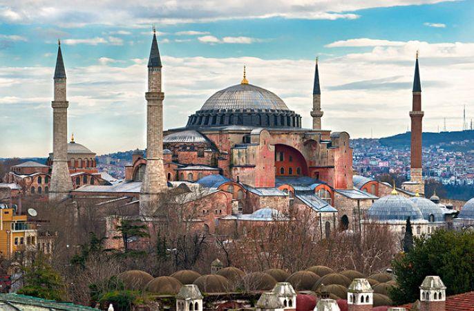 مسجد ایا صوفیه در استانبول