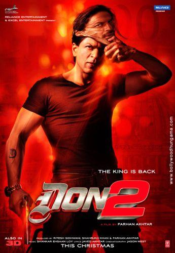 فیلم سینمایی دان 2 بهترین فیلم حادثه ای شاهرخ خان