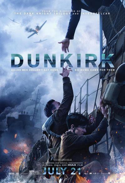 فیلم سینمایی Dunkirk بهترین فیلم جنگی 2017