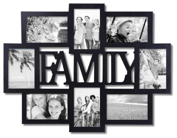 قاب عکس خانوادگی هدیه کریسمس خوب