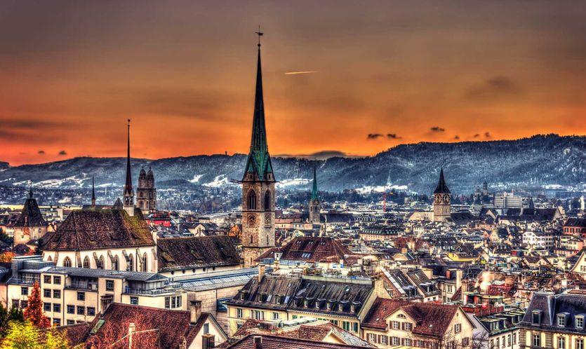 شهر زوریخ در سوئیس