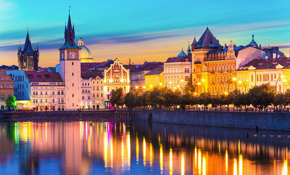 رمانتیک ترین شهر دنیا، پراگ جمهوری چک