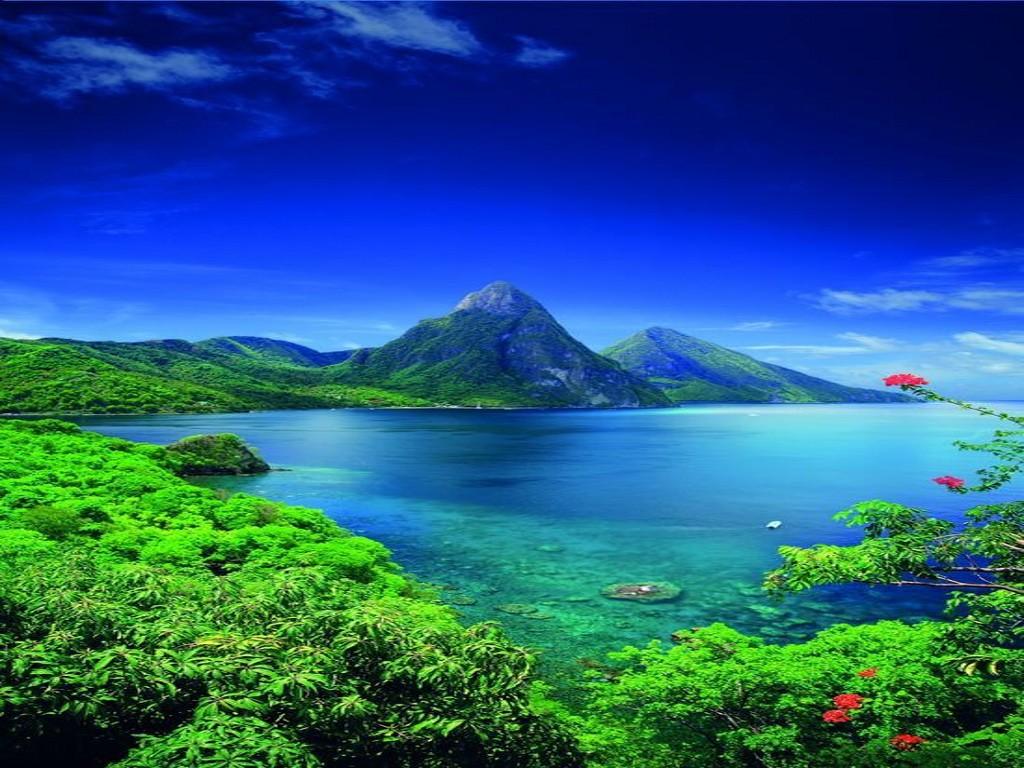 سنت لوسیا در دریای کارائیب