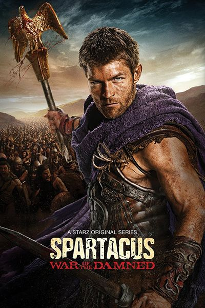 معرفی سریال Spartacus War of the Damned