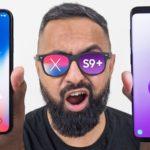 مقایسه گلکسی S9 پلاس با آیفون X اپل