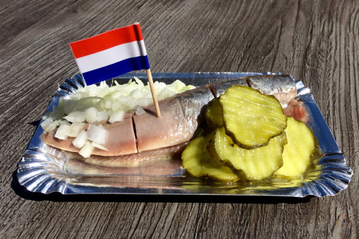 داچ نیو هرینگ (Dutch New Herring) در هلند