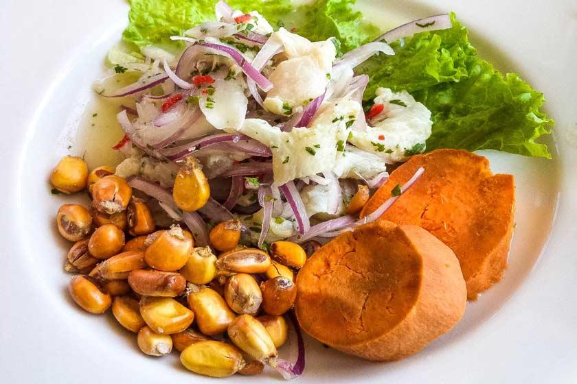 سویچه غذایی خوردنی در پرو