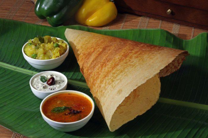 ماسالا دوسا (Masala dosa)، از خوشمزه ترین غذاهای هند